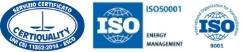 Loghi certificazioni ISO