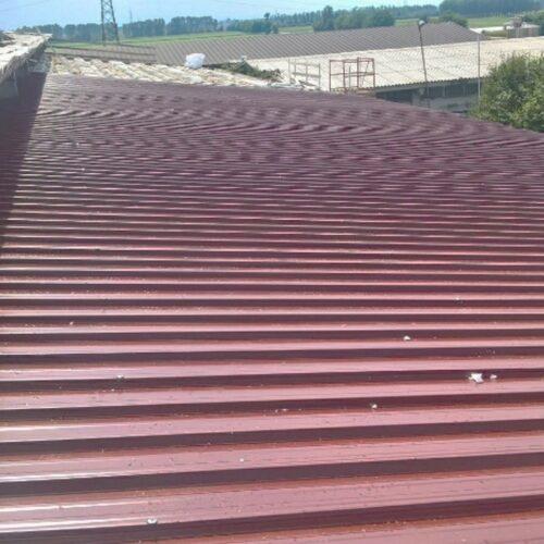 Efficientamento tetto azienda agricola